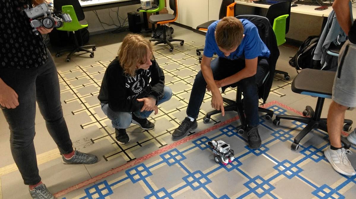 Exkursion ins LegoLabor der TU-Braunschweig