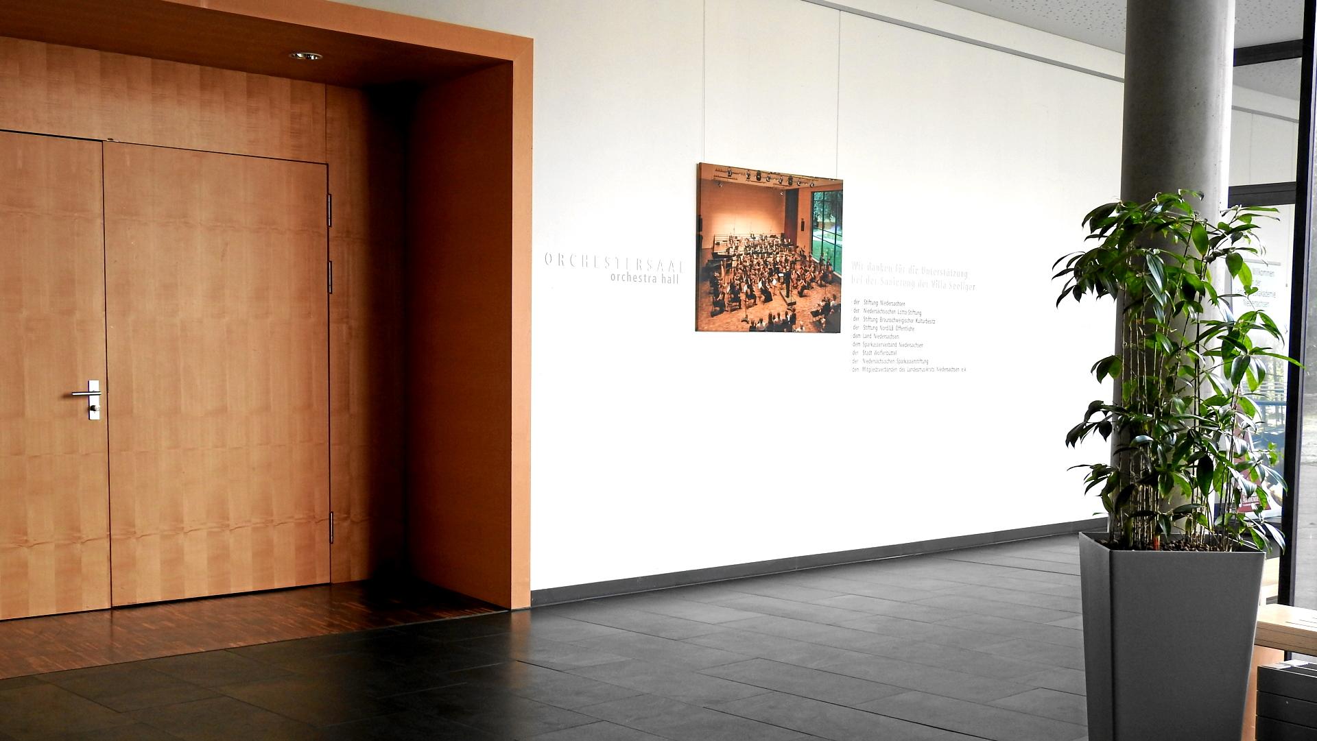 Probenfahrt in die Landesakademie Wolfenbüttel