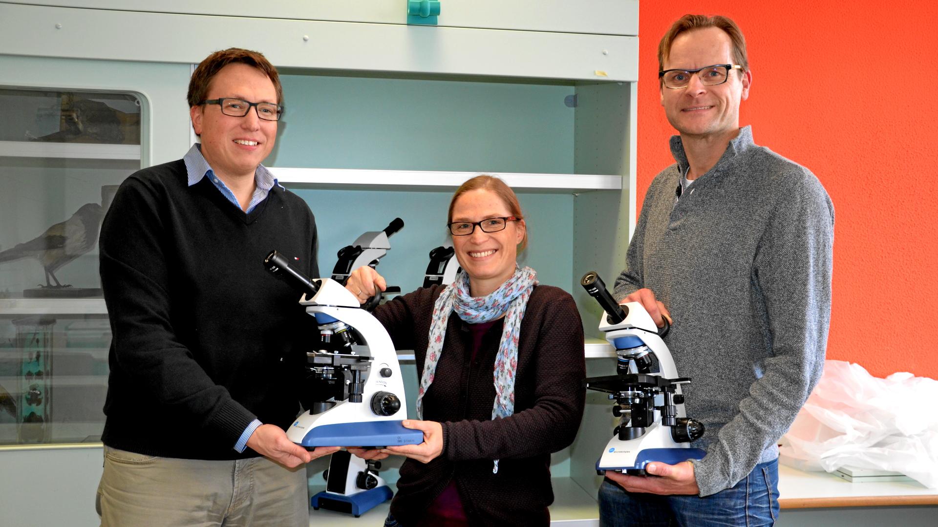 Neue Mikroskope für die Biologie